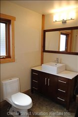 Partial View of Large Main Floor Bathroom