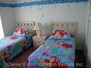 Mermaid Room is one of 5 Bedrooms