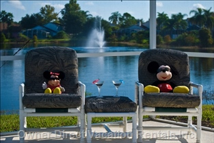 Two of our Regular Guests Soaking up the Florida Sun