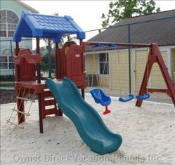 And the Playground Will Keep the Children Amused for Hours.