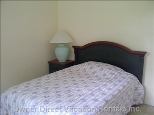 Double Bed Room, TV (Downstairs)