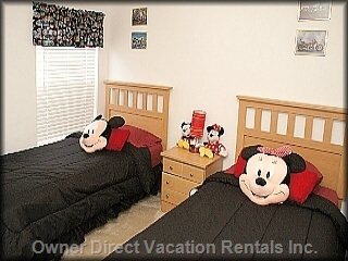 Mickey Twin Room