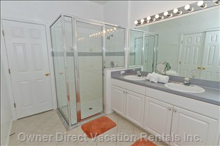 Master Bathroom - Large Walk in Shower