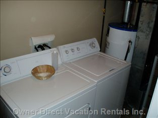 Washer / Dryer / Utility Room