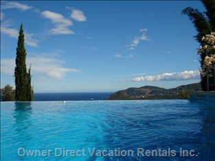 Panoramic Sea View from the Pool