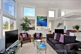 Penthouse Living Room - Stunning, Spacious, and Filled with San Diego Sunshine!