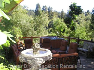 Huge River View decks...23 Places to Sit, Deep Seating Lounge, Spa, Dining, Gas & Charcoal Grills...