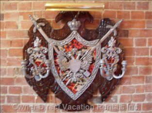 Living Room Coat of Arms