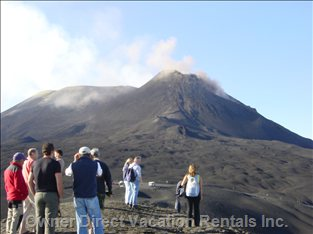 Trekking on Etna