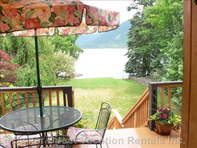 The Beach House on Kootenay Lake | Waterfront Vacation Rental