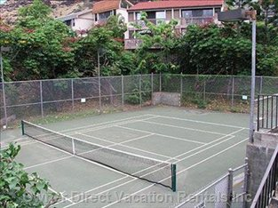 Get some Exercise on the Tennis Court.