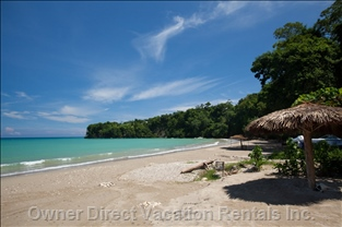 One of the many Pristine White Sand Beaches Nearby - Beautiful Local Beach, Where Friend and Family Can Enjoy the Crystal Clear Blue Sea and  Soft White Sand