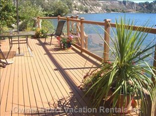 500 Sqft Sundeck Overlooking Okanagan Lake