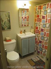 Hip Mid Century Bathroom