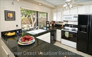 Gourmet Kitchen - Complete W/Stemware - Utensils & Spices
