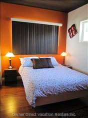 Bedroom #3 with a Queen Bed