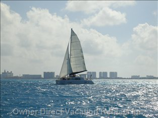 Catamaran - Boat Rentals Located Nearby
