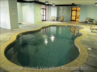 Pool and Jacuzzi Tub - Indoor Heated Pool and Jacuzzi Open Year Round.