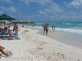 Fantastic White Powder Sand Beaches