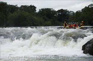 Whitewater Rafting at Kaeng Hin Phoeng