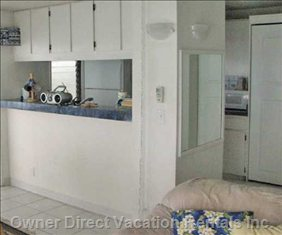 Fully Equipped Kitchen with Ocean View