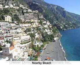 Main Beach of Positano - Reacheable within a 10 Minutes Walk.
