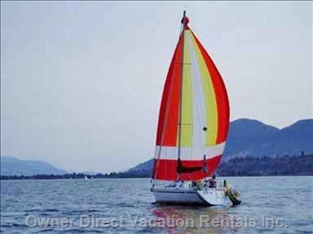 Sail the Okanagan Lake