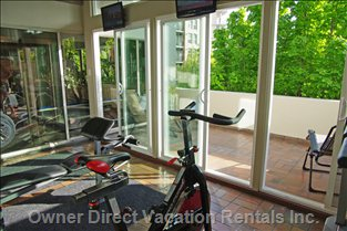 Fitness Centre and Sundeck