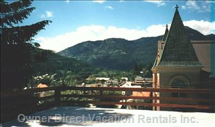 View of Rossland