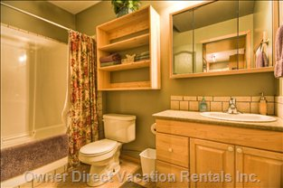Bathroom - Large Roomy Bathroom