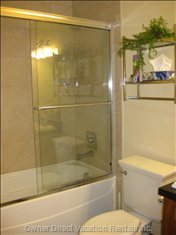 Ensuite Bathroom - Master Bedroom - Deep Bathtub to Soak in