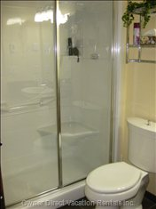 Steam Shower in Bathroom Close to Second Bedroom - Steam Shower - Just the Place to Warm-up and Wind-down after a Great Day in the Snow