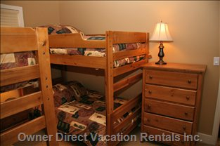 Bunk Bed Room - Sleeps 4