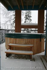 Relax in the Hot Tub after a Great Day on the Slopes Or Trails