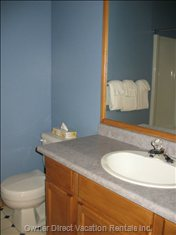 Master Ensuite - the Master Ensuite Offers a Full Bath with Shower.
