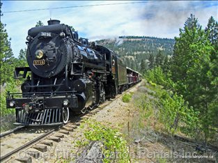 Take a Ride on the Kettle Valley Steam Railway