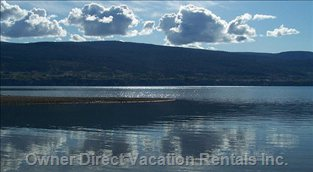 Relax on one of Two Beaches within Walking Distance of Beautiful Okanagan Lake!
