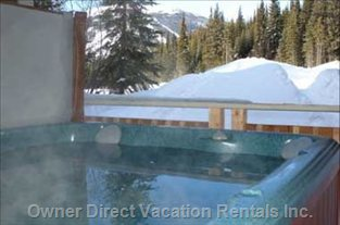 View from Hot Tub - Sun Peaks, BC, Canada