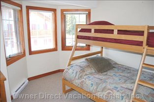 Second Bedroom Tri-bunk