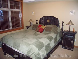Master Bedroom - the Master Bedroom with Queen Sized Bed