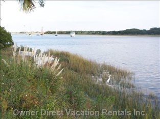 Intracoastal Water--close to the Condo