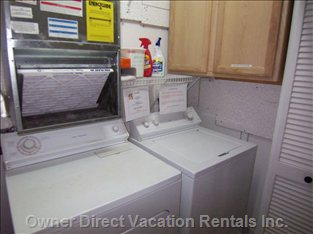 Laundry Room with Additional Food Storage