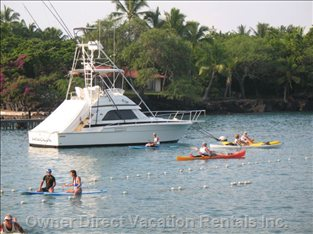 Enjoy Water Sports at Keauhou Bay