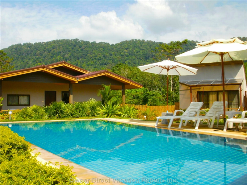 Charming pool villa near Long Beach, Koh Lanta