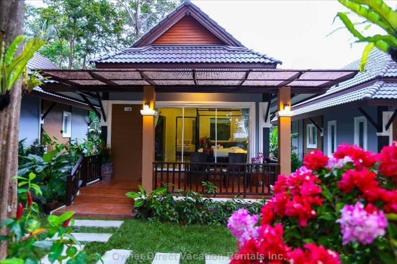 Luxury villa off the coast of Krabi