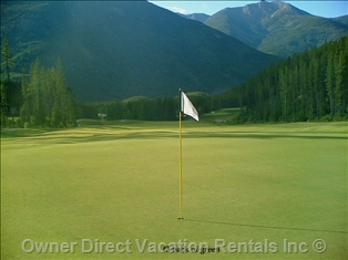 Golfing in Invermere