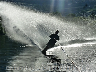 Waterskiing, British Columbia