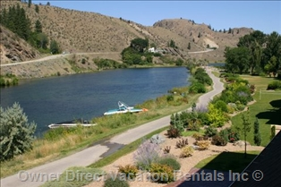 View of Skaha Lake, Okanagan Falls, BC