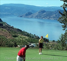 Sumac Ridge Golf Course, Summerland, BC