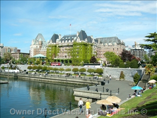 The Empress Hotel, Vancouver Island, BC